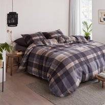 Dekbedovertrek Beddinghouse Joss Grey Flanel