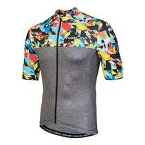 Fietsshirt Nalini Men Centenario  Grijs/Color Block