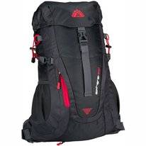 Rugzak Abbey Aero Fit Sphere 35L Antraciet Donkergrijs Rood