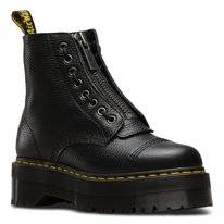 Dr. Martens Women Sinclair Black Milled Nappa