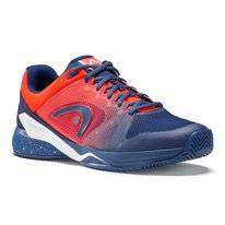 Tennisschoen HEAD Revolt Pro 2.5 Clay Men Blue Flame Orange