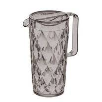 Jug Koziol Crystal Pitcher Transparent Grey