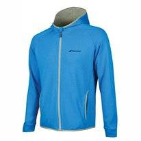 Tennisvest Babolat Men Core Hood Sweat Diva Blue