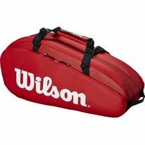 Tennistas Wilson Tour 2 Compartment Small Red