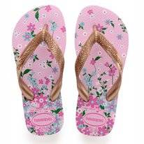 Tongs Havaianas Kids Flores Rose Quartz