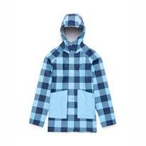 Jas Herschel Supply Co. Women's Rainwear Classic Peacoat Gingham Alaskan Blue