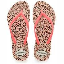 Tongs Havaianas Slim Animals White Coralnew