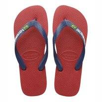 Tongs Havaianas Kids Brasil Logo Rouge