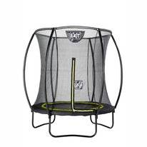 Trampoline EXIT Toys Silhouette 183 Black Safetynet