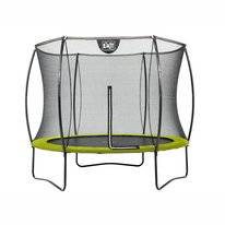 Trampoline EXIT Toys Silhouette 305 Lime Safetynet