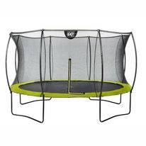 Trampoline EXIT Toys Silhouette 366 Lime Safetynet