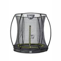 Trampoline EXIT Toys Silhouette Ground 183 Black Safetynet