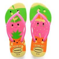 Slipper Havaianas Kids Slim Fun Pollen Yellow