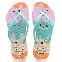 Tongs Havaianas Kids Slim Fun Beige