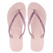 Tongs Havaianas Slim Glitter Ballet Rose