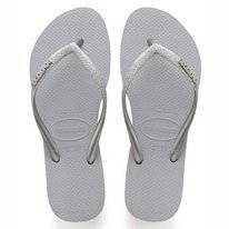 Tongs Havaianas Slim Glitter Steel Grey