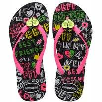 Tongs Havaianas Kids Slim BFF Black