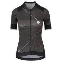 Fietsshirt AGU Women Premium Stripe Black Grey