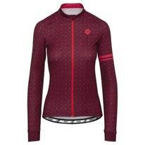 Fietsshirt AGU Women Velo L/S Windsor Wine