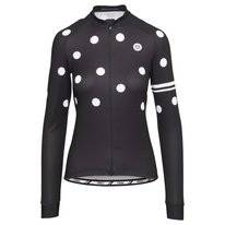 Fietsshirt AGU Women Dot L/S Black