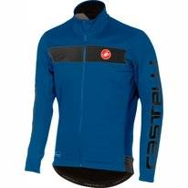 Fietsjack Castelli Men Raddoppia Jacket Ceramic Blue