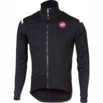 Fietsjack Castelli Men Alpha Ros Light Jacket Light Black Black