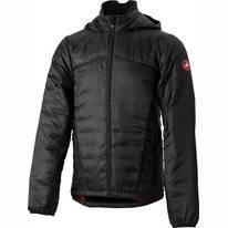 Fietsjack Castelli Men Meccanico 2 Puffy Jacket Light Black