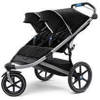 Kinderwagen Thule Urban Glide 2 Double Jet Black