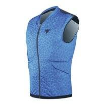 Bodyprotector Dainese Flexagon Waistcoat Men Vapor Blue High Risk Red