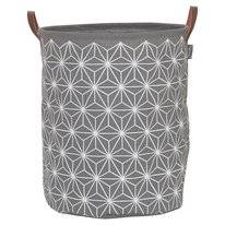 Panier à Linge Sealskin Triangles Gris