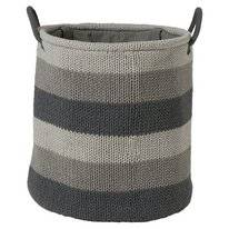 Panier à Linge Sealskin Knitted Gris Large