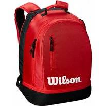 Tennisrugzak Wilson Team Backpack Black Red