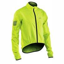 Fietsjack Northwave Men Vortex Jacket Yellow Fluo