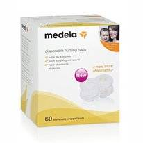 Zoogkompressen Medela Disposable (60-delig)