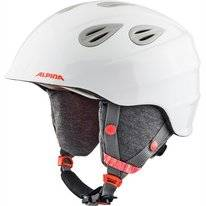 Skihelm Alpina Grap 2.0 Junior White Flamingo Matt