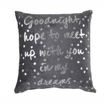 Coussin Ariadne at Home My Dreams Antraciet (43 x 43 cm)