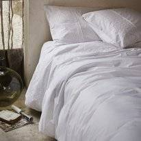 Housse de Couette Essenza Aylin White Percale