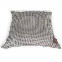 Sierkussenhoes Town&Country Aimy Grey (50 x 50 cm)