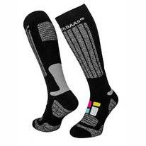 Skisocke Poederbaas Senior Black (2er-Pack)