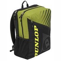 Tennisrugzak Dunlop SX Club 1 Racket Backpack Black Yellow