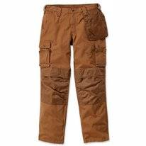Werkbroek Carhartt Men Emea Multipocket Ripstop Pant Brown
