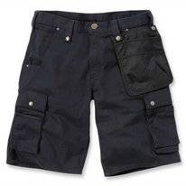 Werkshorts Carhartt Men Emea Multipocket Ripstop Short Black