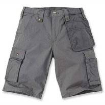 Werkshorts Carhartt Men Emea Multipocket Ripstop Short Gravel