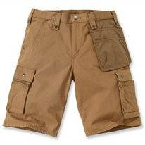 Werkshorts Carhartt Men Emea Multipocket Ripstop Short Brown