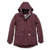Jacke Carhartt Shoreline Jacket Deep Wine Damen