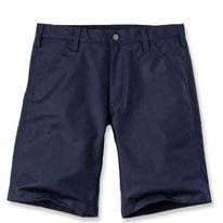 Werkshorts Carhartt Men Rugged Stretch Canvas Short Navy