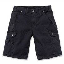 Werkshorts Carhartt Men Ripstop Work Short Black
