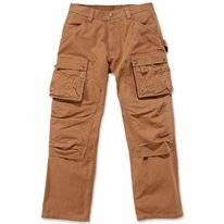 Werkbroek Carhartt Men Duck Multi Pocket Tech Pant Brown