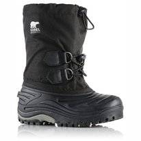 Botte Sorel Toddler Super Trooper Black/Light Grey
