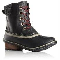Sorel Women Slimpack II Lace Black Kettle
